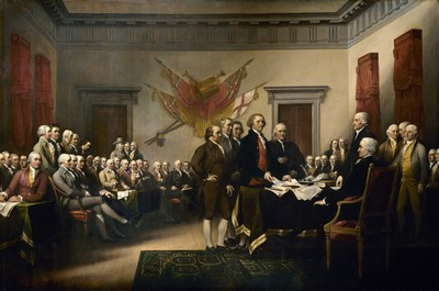 Declaration of Independence by John Trumbull (1819)