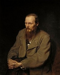 Portrait of Fyodor Dostoyevsky by V. Perov (1872)