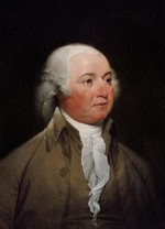 Portrait of John Adams by John Trumbull (1792-93)